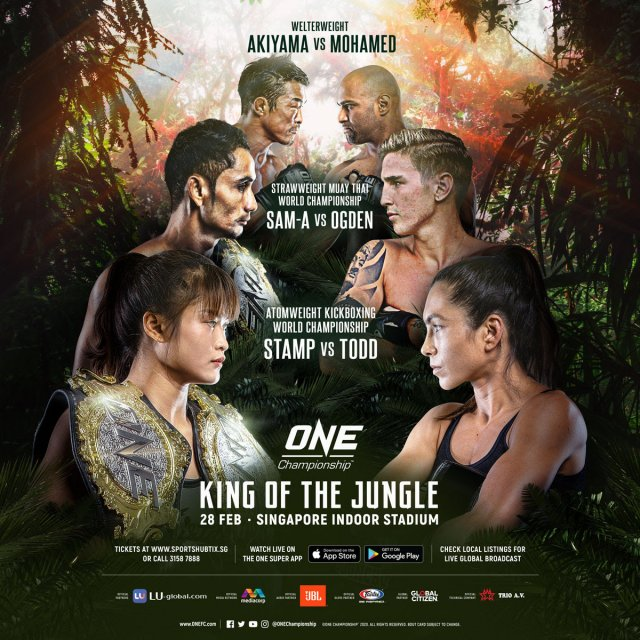 UFC Vet Yoshihiro Akiyama to Clash With Sherif Mohamed at One: King of the Jungle