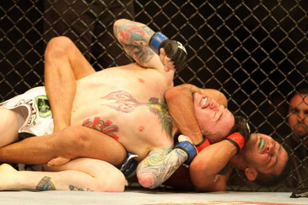 Think, that Rear naked choke submission