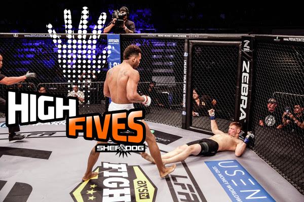 High Fives: A Highlight-Reel KO, Slugfests and a Victorious Beast