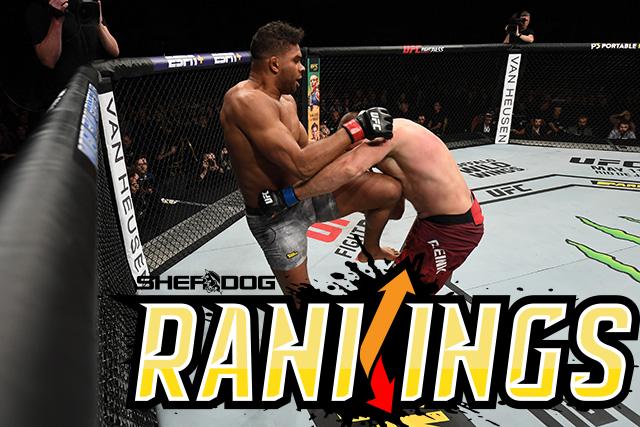 Sherdog's Official Mixed Martial Arts Rankings Still Dangerous