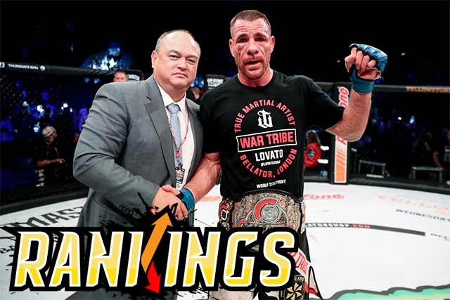 Sherdog's Official Mixed Martial Arts Rankings  Grappling with Greatness