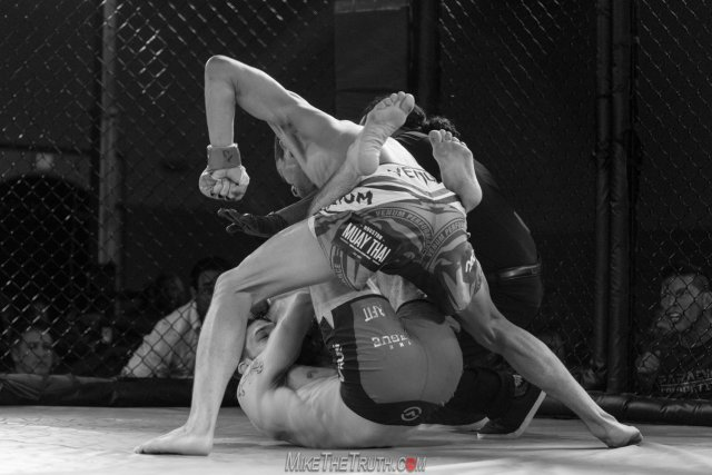 Cameron Graves Blitzes Colin Wright to Capture Fury FC Featherweight Title