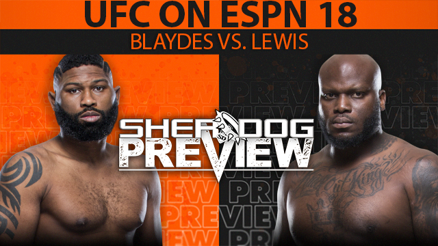 Curtis Blaydes vs. Derrick Lewis UFC Fight Night main event canceled
